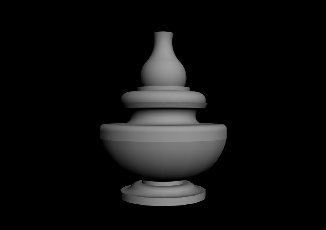 temple kalash 3D model