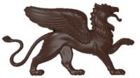 bas relief griffin 3D model