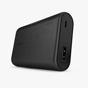 portable charger anker powercore 3D model