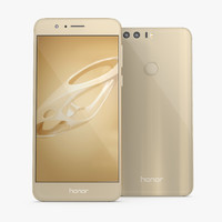 3D huawei honor 8 sunrise model