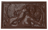 bas relief cleopatra cat 3D