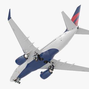 boeing 737-600 delta air lines model