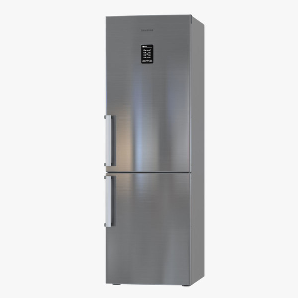 3D model samsung refrigerator rb31fejnbss
