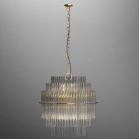 GAETANO SCIOLARI LIGHTOLIER CHANDELIER