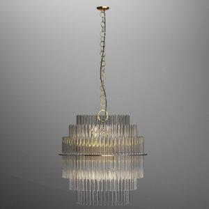 3D gaetano sciolari lightolier chandelier model
