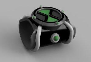 3D model ben omnitrix
