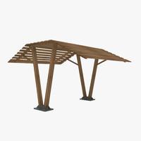 sunshades 3D model