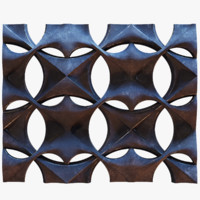 3D decorative seamless wall block