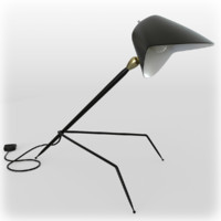Serge Mouille desk lamp