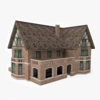 ready medieval house 3D