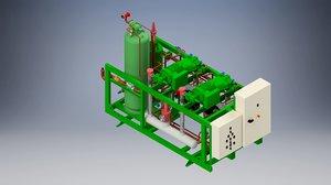 3D compressor pack bitzer