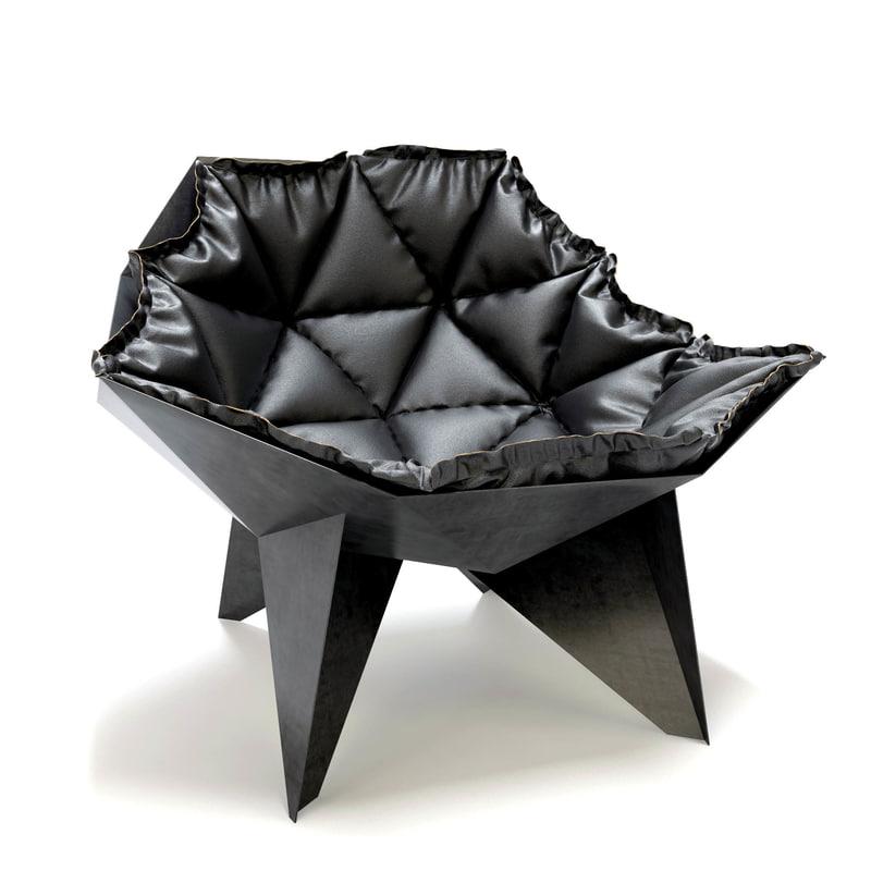 3D q1 arm chair odesd2