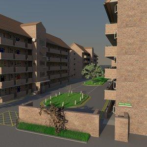 building estate 3D