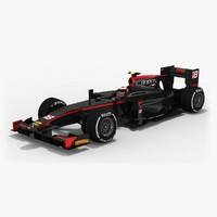 rapax formula 2 season 3D model