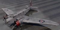 3D plane douglas b-18 bolo