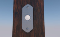 3D doorbell door bell ring