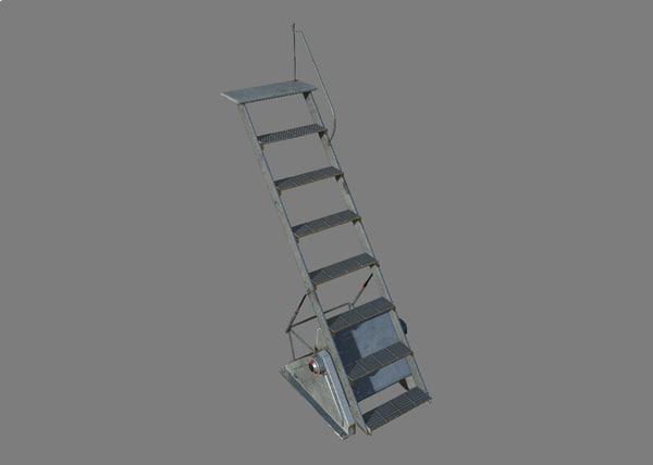 3D access ladder sci