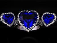 jewelry set eternal 3D model