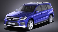 mercedes benz gl 3D model