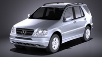 Mercedes m class 1997 - 2005 W163 VRAY