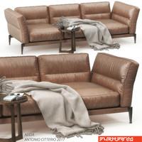flexform adda sofa set 3D