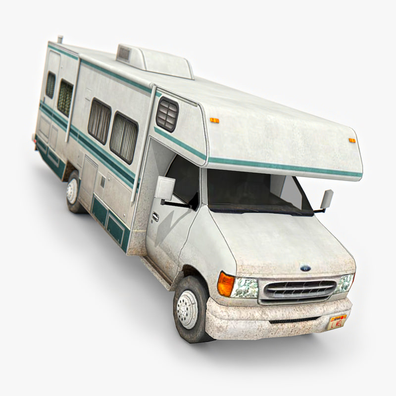 motorhome ready games 3D model