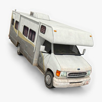3D model motorhome ready games