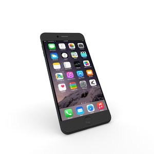 3D iphone 7 mobile phone model