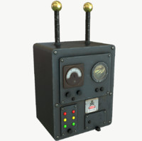 3D model strange machine