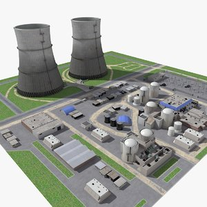 3D watts bar nuclear plant