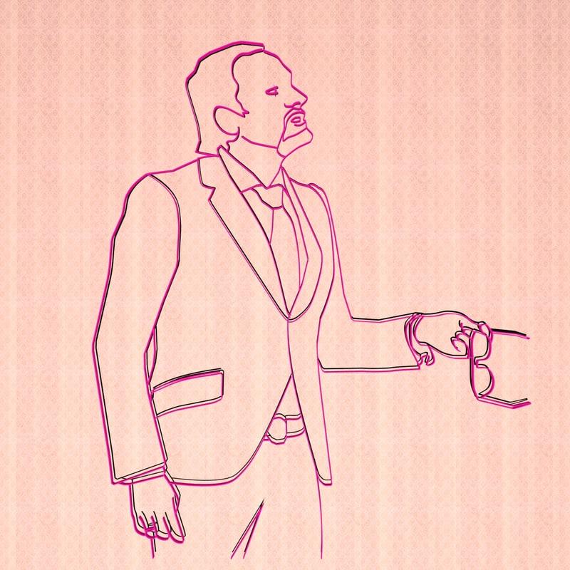 portrait man 3D model