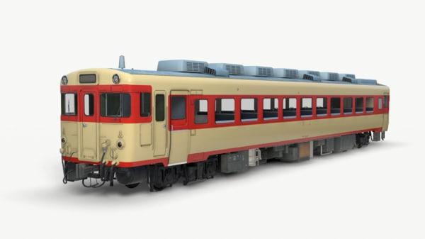 ready kiha58 3D model