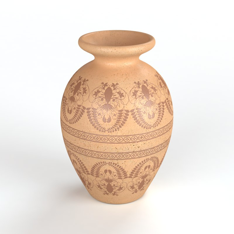 3d Ancient Vase Turbosquid 1151603