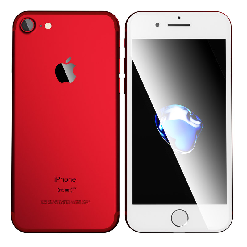 3D apple iphone 7 product