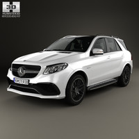 mercedes-benz gle-class gle 3D model
