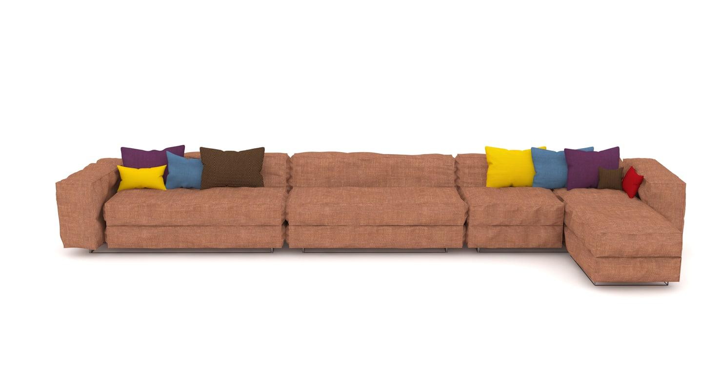 3D furnishing interior model