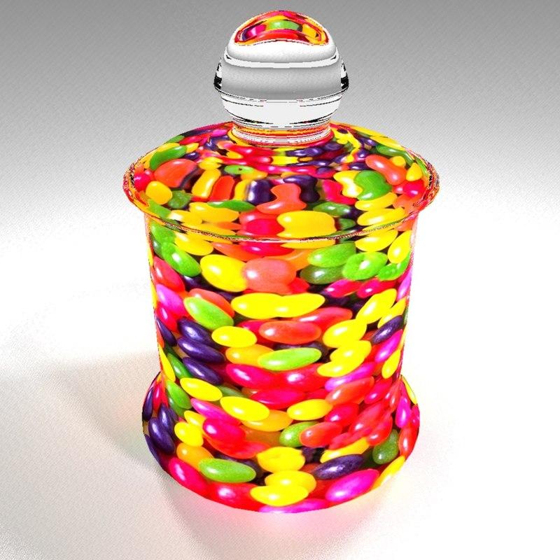 jellybeans 3D model