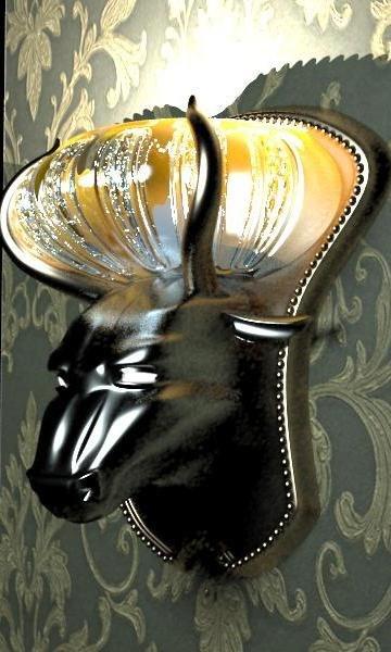 lamp bra-bull 3D model