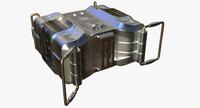 3D sci fi box