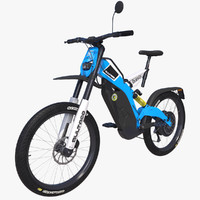 electric bike bultaco brinco 3D model