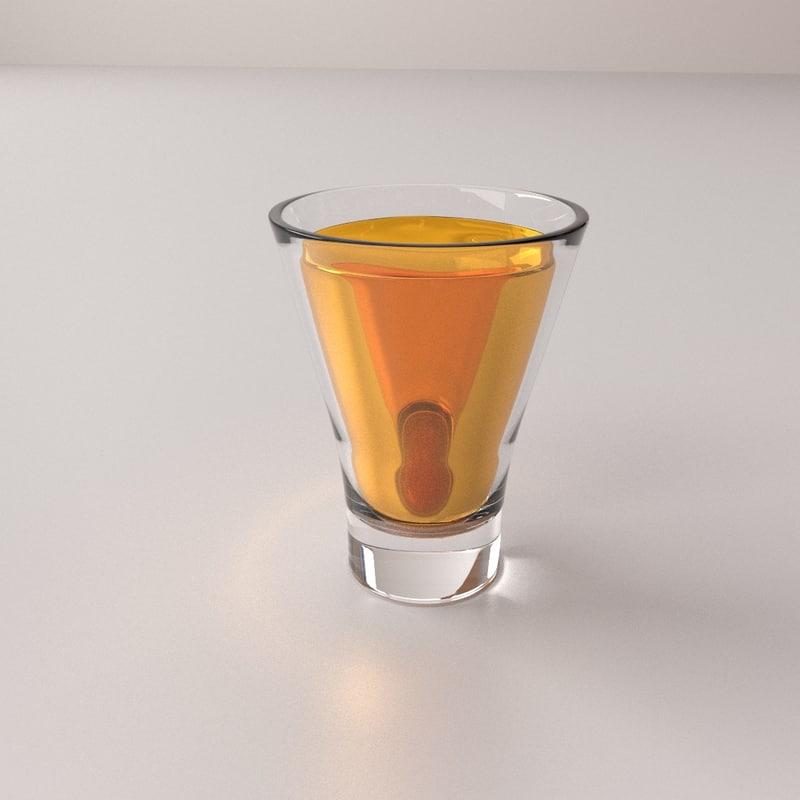 3D glass drink v2