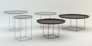 duke coffe tables 3D