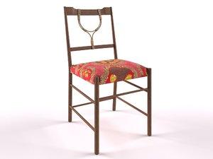 chair interior 3D model