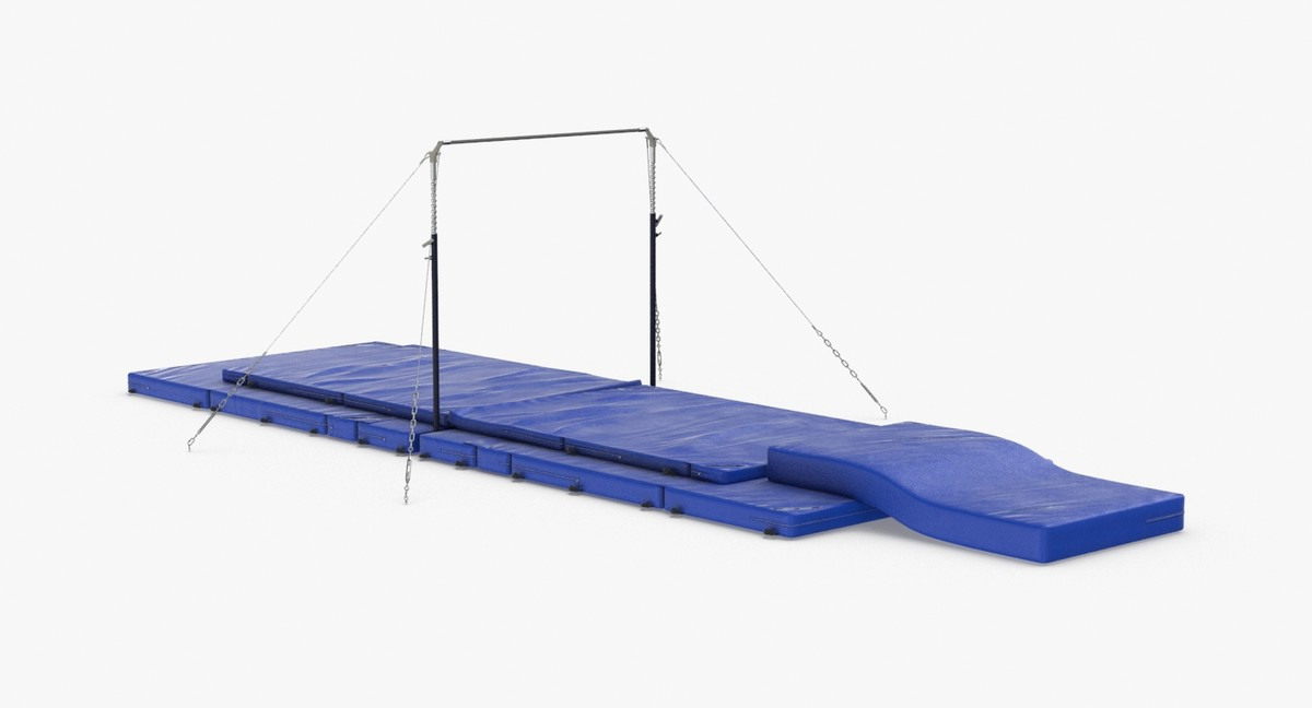 3D horizontal-bar model