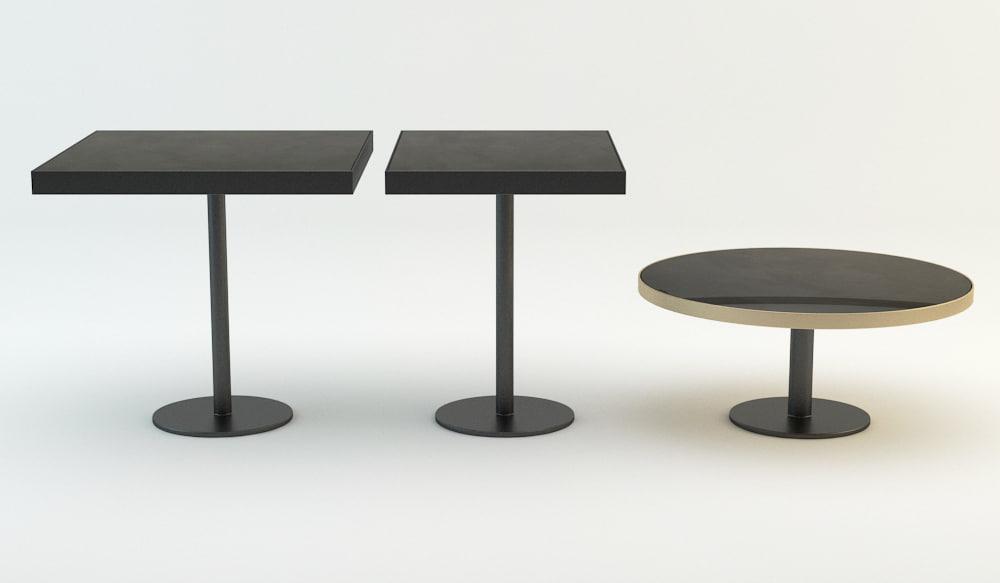 hdm tables 3D model