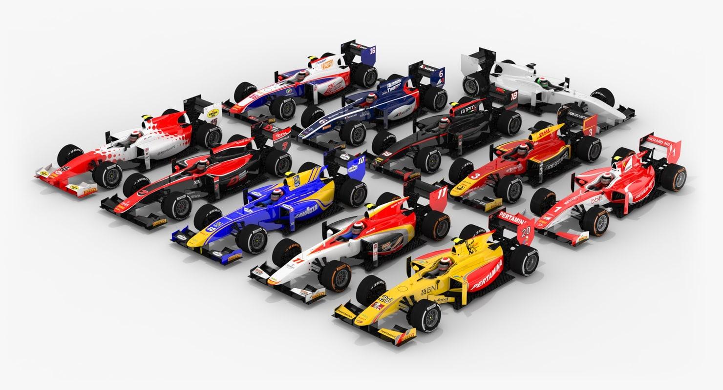 3D pack formula 2 2017 model