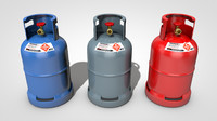 3D model gas tank