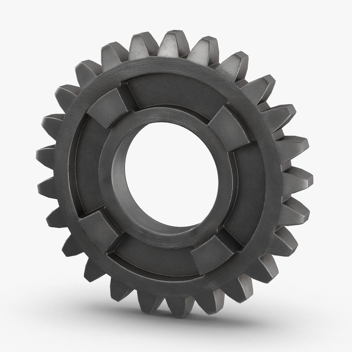 3D gears---gear-25 model