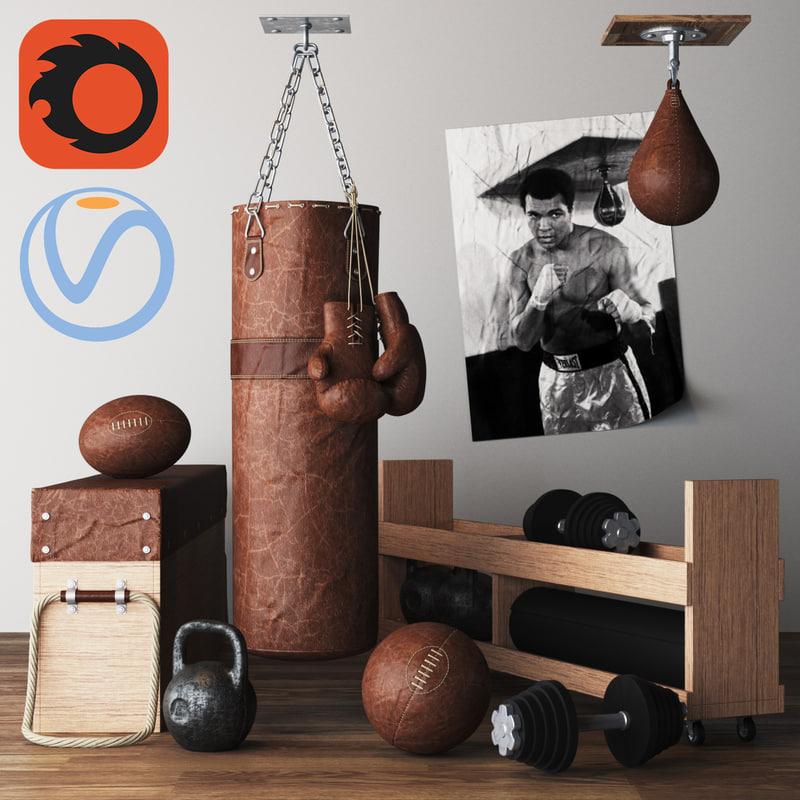 3D diy home gym box
