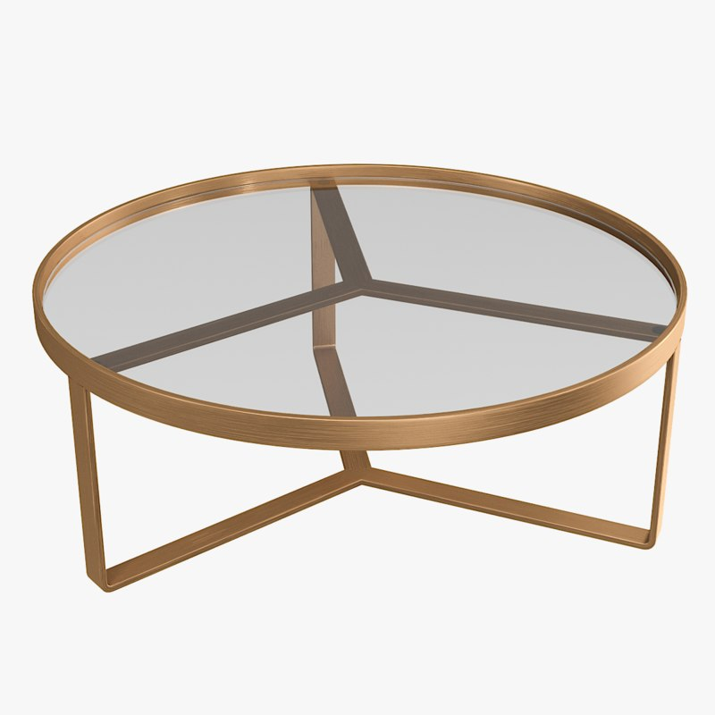 3D aula coffee table